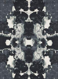rorschach floral