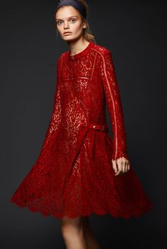 Preen by Thornton Bregazzi Pre-Fall 2015 - Collection - Gallery - Style.com Furlong Fashion #ladyinred #horseracing #racingstyle #fashionattheraces #red #furlongfashion http://www.furlongfashion.com/2015/08/lady-in-red.html
