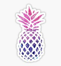 'Blue Glitter Sparkle Pineapple' Sticker by katrinawaffles Tumblr Stickers, Cool Stickers, Printable Stickers, Laptop Stickers, Planner Stickers, Homemade Stickers, Blue Glitter, Glitter Bomb, Aesthetic Stickers
