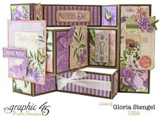 Card: Graphic 45 Time To Flourish May Card 1                                                                                                                                                      More
