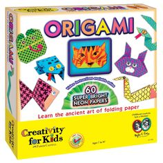 Creativitiy for Kids - Origami Paper Craft Kit - Educational Toys