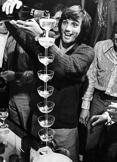Thirsty work: George Best. I love himmmm @Jenn L Donnelly