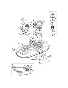 Craftsman Lt1000 Riding Lawn Mower Drive Belt Diagram