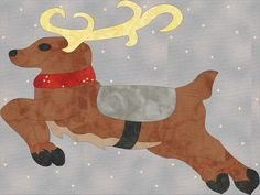 12 Days Bonus - Ginger Santa and his Reindeer | Craftsy