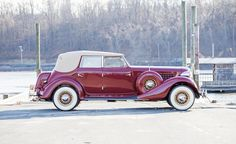 1935 Auburn 851 Custom Dual Ratio Phaeton