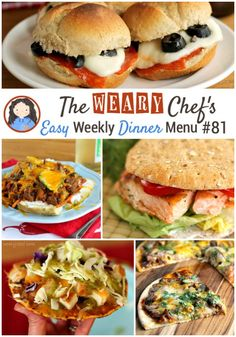 This week's menu focuses on easy back to school dinner ideas like Chicken Tostadas, Slow Cooker BBQ Pizza, Gnocchi in Tomato Cream Sauce, and lots more!