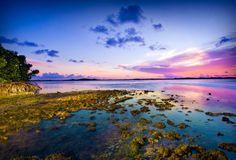 Tidal Pool Sunset