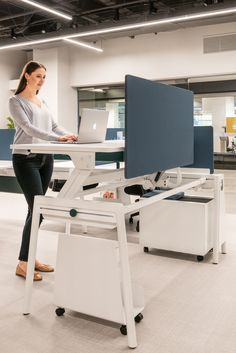 Hate sitting at your desk? Break up the monotony with the help of our SkyRockIt technology and the RockIt bench. A standing desk built with you in mind. Office Furniture, The Help, Bench, Desk, Hate, Technology, Home Decor, Tech, Desktop