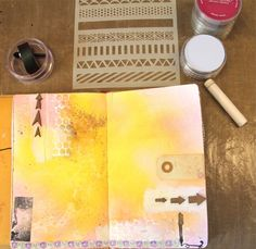 art journal stencil
