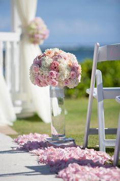 Wedding Ceremony flowers!