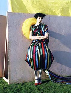 Tim Walker, The Right Lines, British Vogue, April 2011. Model: Kirsi Pyrhonen