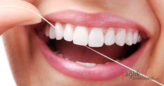 Dental floss is a thin cord comprising of filaments while the dental tape has a flat surface that slides easily in between the teeth. The dental tape does not snap or harshly strike the gums the way dental floss does. Dental Jobs, Dental Care, Dental Health, Oral Health, Preventive Dentistry, Gum Disease Treatment, Teeth Whitening Diy, Dental Veneers, Natural Treatments