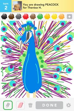 Peacock drawsome
