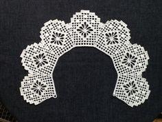 レース編み*つけ襟の画像4枚目