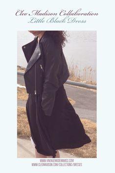 Cleo Madison Collaboration; Little Black Dress – Vintage Modern Miss