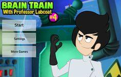 Brain Train With Professor Labcoat #4 - Szalony Naukowiec #4