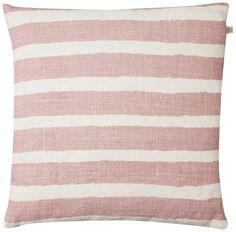 Chhatwal & Jonsson kuddfodral Block Stripe Pink - 50 x 50 cm