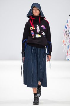 Kiev Showcase: Four Ukranian designers and one Kazakstan designer showcased at Fashion Scout for SS15, portraying the theme of #FASHIONFORPEACE. #SS15 #LFW