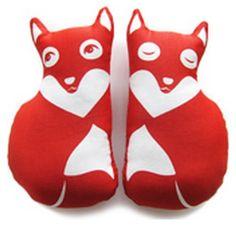 Fox soft toy PaaPii Design