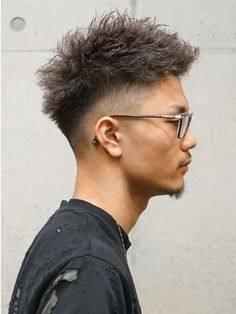 Curly Hair Cuts, Short Hair Cuts, Curly Hair Styles, Asian Men Hairstyle, Japanese Hairstyle, Mid Fade Haircut, Barber Haircuts, Black Men Haircuts, Trending Haircuts