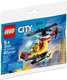 Lego City Fire, Lego City Sets, Building Toys, Ciel, Products, Water Cannon, Firefighter, Playmobil, Gadget
