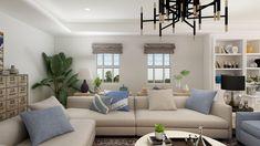 Sophisticated Hamptons Living Room Design Decor Interior Design, Interior Decorating, Hamptons Living Room, Hamptons Style Homes, Design Your Kitchen, Living Room Designs, Living Rooms, My Furniture, Cafe Design
