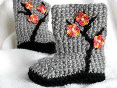 crochet boots. @inge wilson