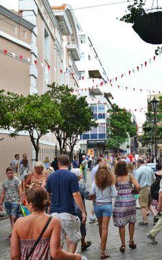Main Street Gibraltar | SkyTravelr