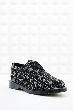 Martens Kensington Briar Oxford Shoes in Skull Print at Urban Outfitters  today. We carry all the latest styles, colours and brands for you to choose  from ...