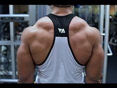 3 Best Trapezius Exercises to Build Your Traps Back Workout Bodybuilding, Bodybuilding Routines, Bodybuilding Clothing, Rear Delt Exercises, Back Exercises, Chest Workout For Men, Workout Women, Trapezius Workout, Traps Workout