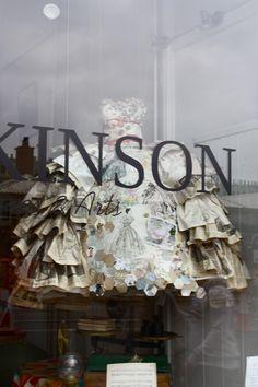 paper dress | nottingham antique store