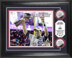 New England Patri... http://www.757sc.com/products/new-england-patriots-tom-brady-super-bowl-xlix-champion-trophy-silver-coin-photo-mint-hm?utm_campaign=social_autopilot&utm_source=pin&utm_medium=pin #nfl #mlb #nba #nhl #ncaaa #757sc