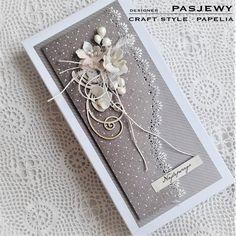 "Kartka w pudełku-komplet na Ślub-odkrywamy ""Kryształy Amarantu""   PAPELIA - Blog Invitation Cards, Invitations, Diy And Crafts, Paper Crafts, Wedding Cards Handmade, Envelope Design, Quilling Designs, Die Cut Cards, Wedding Album"