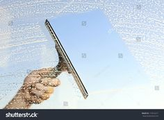 This image was sold today @ Shutterstock Cleaning windows with a squeegee https://www.shutterstock.com/da/image-photo/cleaning-windows-squeegee-174316271