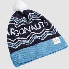 CFL Toronto Argonauts Toque. Dress in style this winter with the Argonauts toque. Whether you're just walking through the streets of Toronto or in the stands at BMO Field, make sure you #RepYourHood with this limited edition toque.  An official Tuck Shop and CFL collaboration.   Proudly Made in Canada. Collaboration, Toronto, Winter Hats, Beanie, Walking, Canada, Knitting, How To Make, Tricot