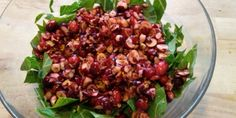Meatless Monday: Chopped Cranberry 'N Collards Salad