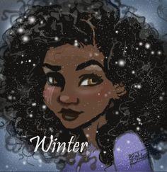 Mini Winter poster by Julie Crowell