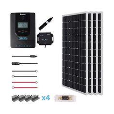 Renogy New 400 Watt 12 Volt Solar Premium Kit – TinyHouseEssentials