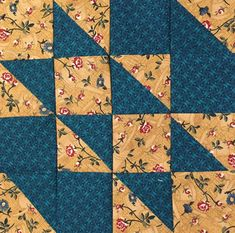 Color, Creating and Quilting!: Tutorial for making Eight 2 inch HST's