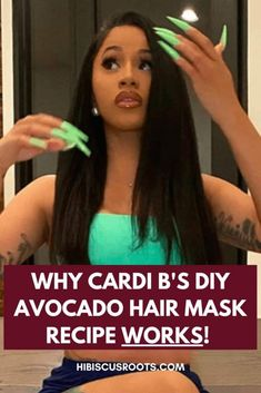 I tried Cardi B's Recipe on my 4C Natural Hair and I'm SHOCKED!