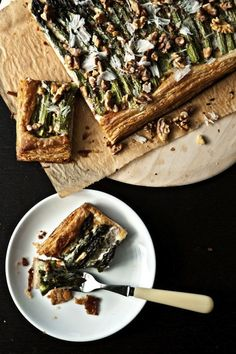 Asparagus Tart With Walnuts And Parmesan | 27 Big And Impressive ...