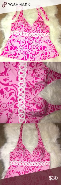 🎀 Lilly Pulitzer Halter Top (Size 2). 🎀 🎀 Lilly Pulitzer Halter Top (Size 2). 🎀 Lilly Pulitzer Tops Tank Tops