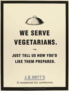 A restaurant for carnivores