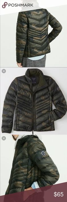 f151eff3e6b1d Abercrombie down Packable puffer jacket. New ..L Abercrombie down Packable  puffer jacket .