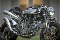 Return of the Cafe Racers: Vintage Speed - BCR Ducati 900ss Cafe Racer