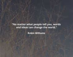 but it always takes action to manifest the change (that can be as simple as incorporating the idea into your beliefs)