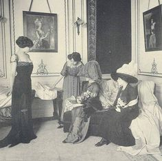 House of Worth Salon de Vente1910