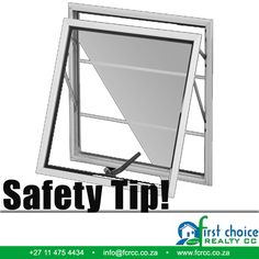 Even though a home alarm system is a great way to keep your home safe, you can never be too careful when it comes to home security. So ensure all windows are fitted with adequate locks or burglar bars that cover all glass. #Safety #Tips #windows