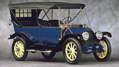 In 1912 Cadillac fitted the first starter motor as standard equipment on its Model 30.