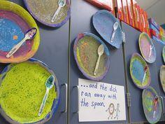 Pre-K Tweets: Nursery rhyme art